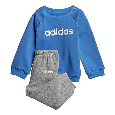 4768cdda39f5 adidas Linear Jogger Infant Toddler Kids Jumper Trouser Tracksuit ...
