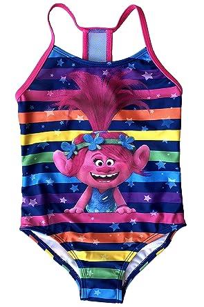 a3cc9643dbca9 Amazon.com: Fashion Girls Trolls Poppy One Piece Swimsuit: Clothing