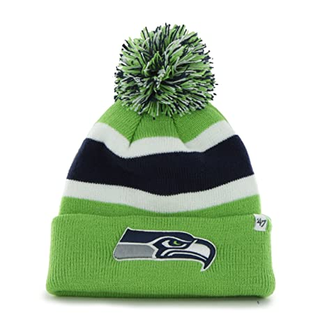 Image Unavailable. Image not available for. Color   47 Brand Seattle  Seahawks Breakaway Knit Hat 20590cf60