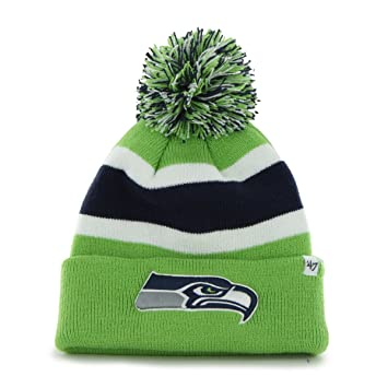 Image Unavailable. Image not available for. Color   47 Brand Seattle  Seahawks Breakaway Knit Hat d8c38d50abd2