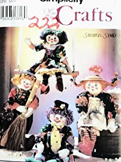 """product image for OOP Simplicity Crafts Pattern 8263. 24"""" Decorative Girl & Boy Clown Dolls Clothes"""