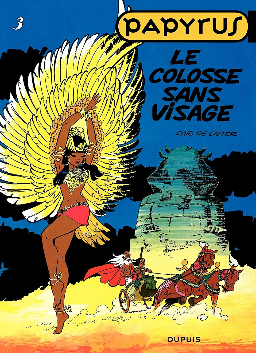 Papyrus - Tome 3 - LE COLOSSE SANS VISAGE (French Edition) eBook ...