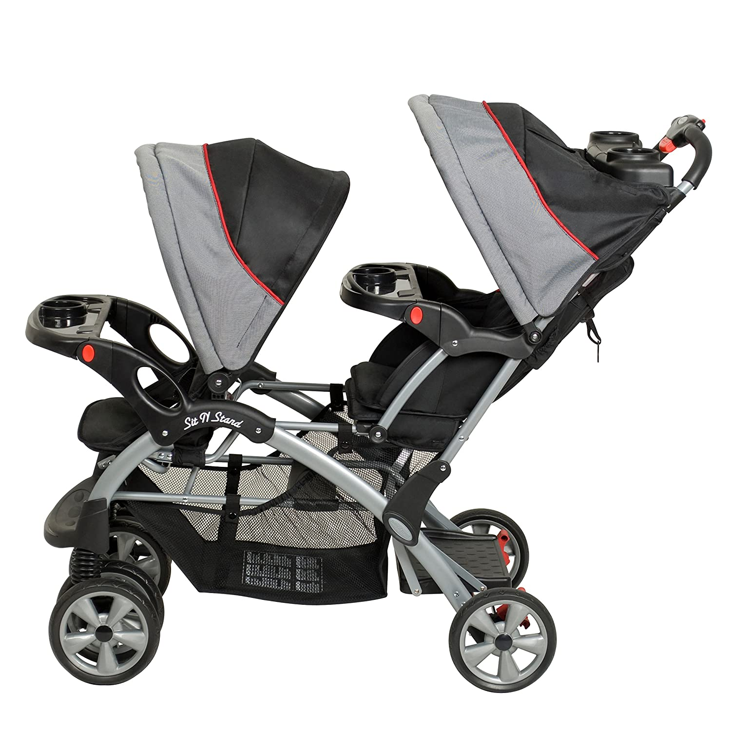 Amazon Baby Trend Double Sit N Stand Stroller Millennium Tandem Strollers Baby