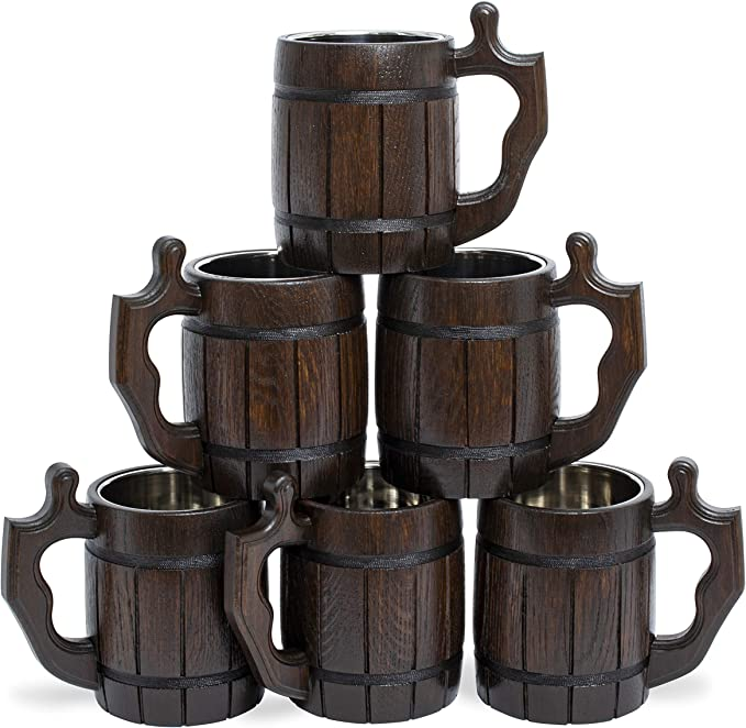 Handmade Beer Mug Set