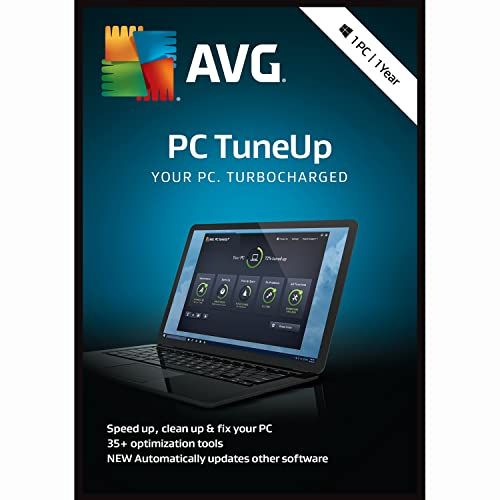 AVG PC TuneUp 2018, 1 PC 1 Year [Online Code] by AVG Technologies