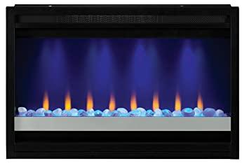 amazon com classicflame 36eb221 grc 36 contemporary built in classicflame 36eb221 grc 36 quot contemporary built in electric fireplace insert