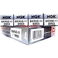 NGK Spark Plug BKR5E-11, Pack of 4