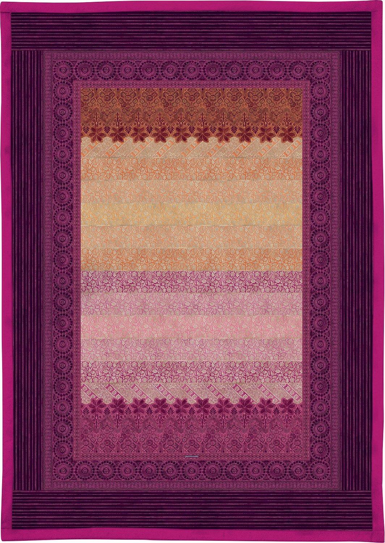 Bassetti 9235499 Plaid - Tagesdecke, Appiani V9, Baumwolle, Sondergrößen 190 x 135 x 0,5 cm, lila