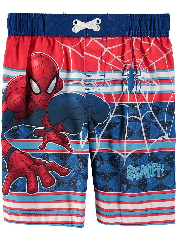 Spiderman Marvel Toddler Boys Swim Trunks Bathing Suit