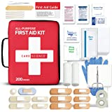 Care Science First Aid Kit All Purpose, 200 Pieces | Professional Use for Travel, Work, School, Home, Car, Survival…