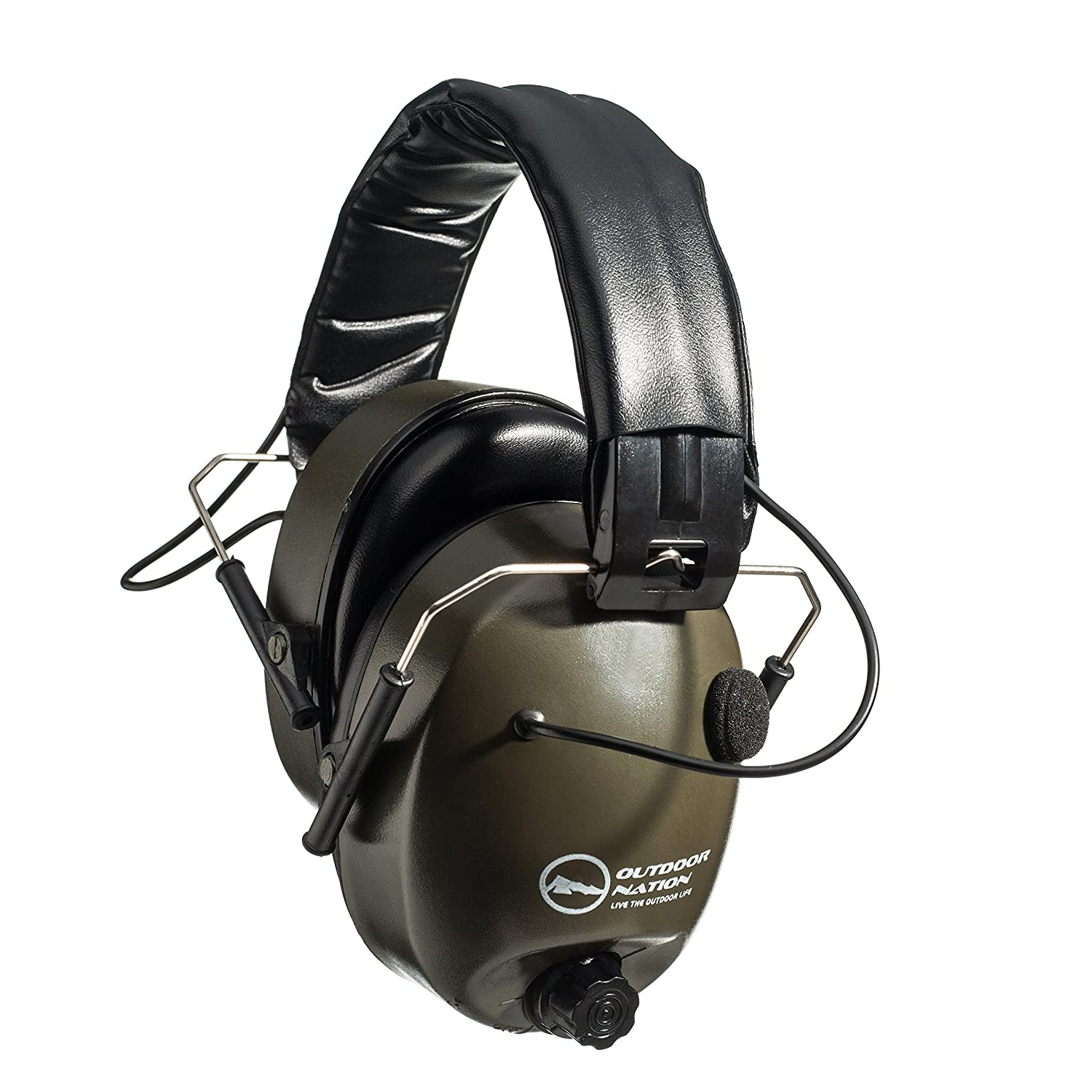 Safety Earmuffs Hearing Protection Noise Canceling Shooting Ears And Speakers Protector Green By Outdoor Nation