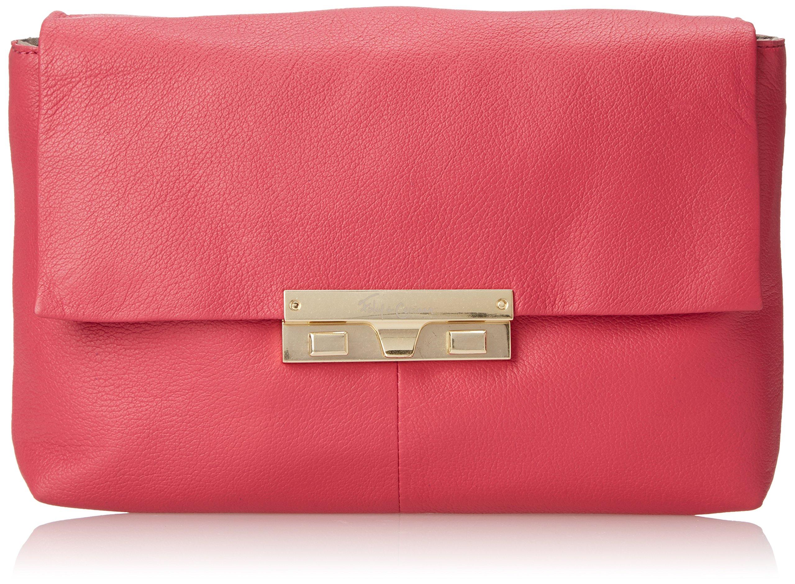 Foley + Corinna Bea Clutch Cross Body Bag, Rose, One Size by Foley + Corinna (Image #1)
