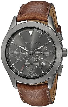 4adb48d4f75e Amazon.com  Michael Kors Men s Gareth Brown Watch MK8471  Michael Kors   Watches