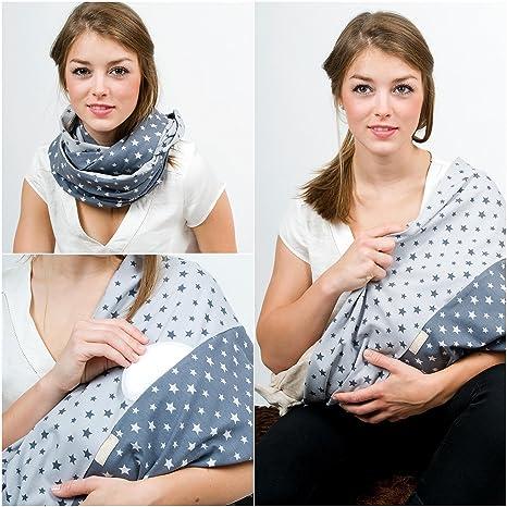 diseño atemporal 153ae 711a7 Mania bufanda para lactancia