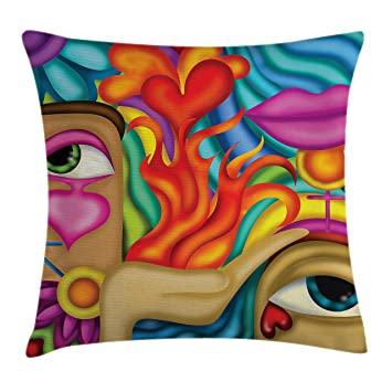 Amazon.com: Tatuaje Decor Throw Pillow Cojín Cubierta por ...