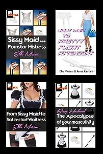 Sissy Maid Bundle 2: Pretty Flight Attendants & Satin Waitresses