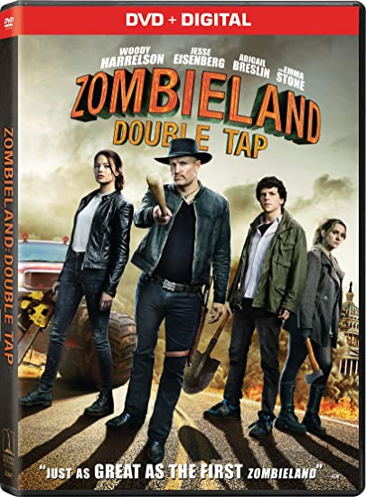 Zombieland: Double tap DVD Cover Art