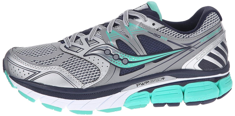 Saucony Women's Redeemer ISO Running Shoe B00PIWGHPC 6.5 W US|Silver/Grey