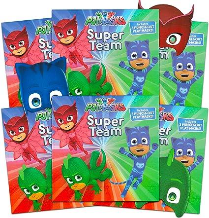 Amazon.com: Simon Spotlight PJ Masks Books Super Set ~ El ...