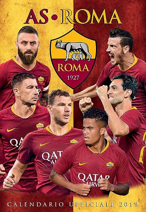Calendario As Roma 2019.Calendario 2019 Roma Amazon It Cancelleria E Prodotti Per