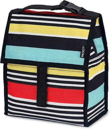 PackIt Surf Stripe Bolsa para Almuerzo congelable, 13x22x25 cm: Amazon.es: Hogar