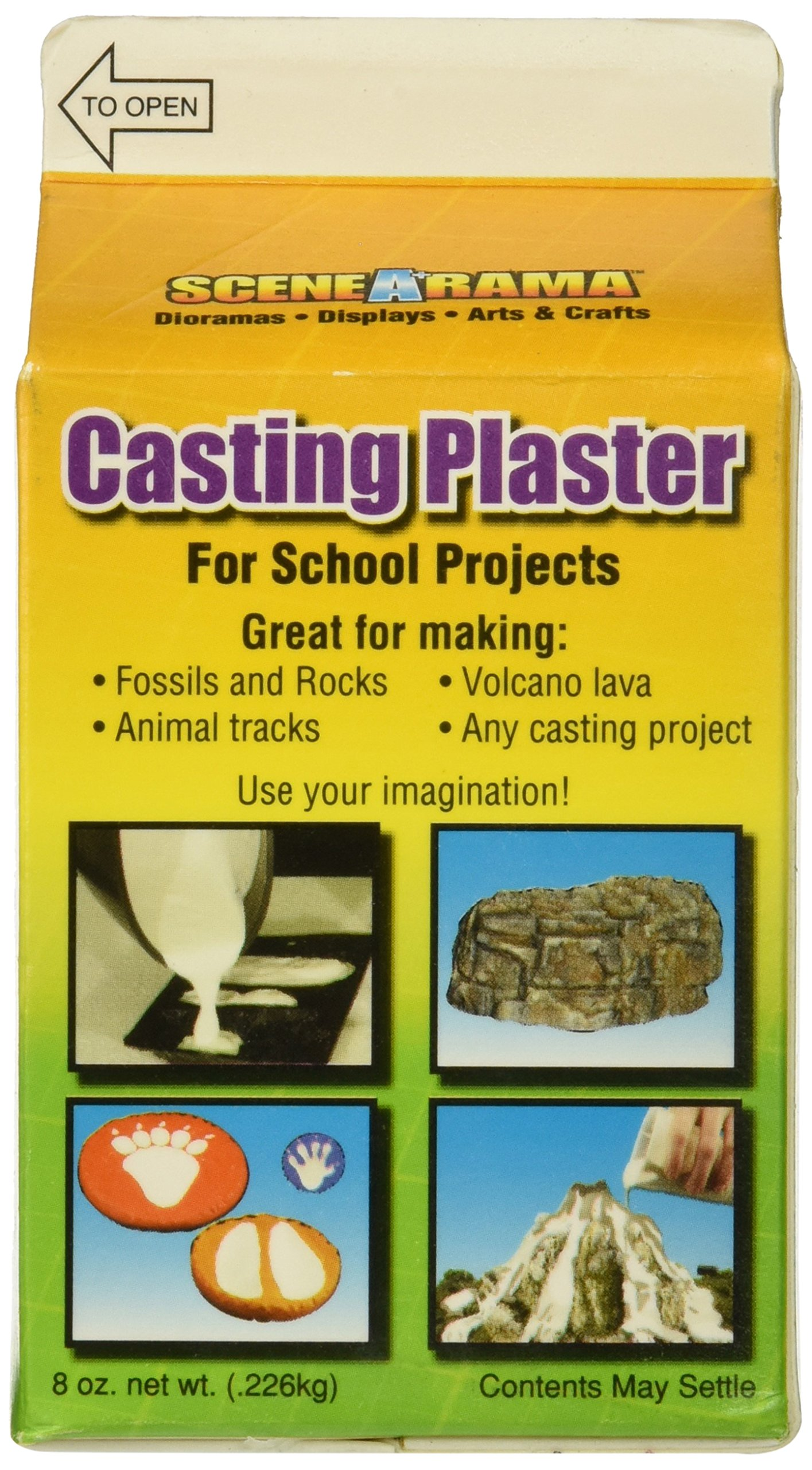 Woodland Scenic Casting Plaster, 236ml/8-Ounce