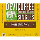 Devi Coffee Singles - Box of 12 Single Serve Bags