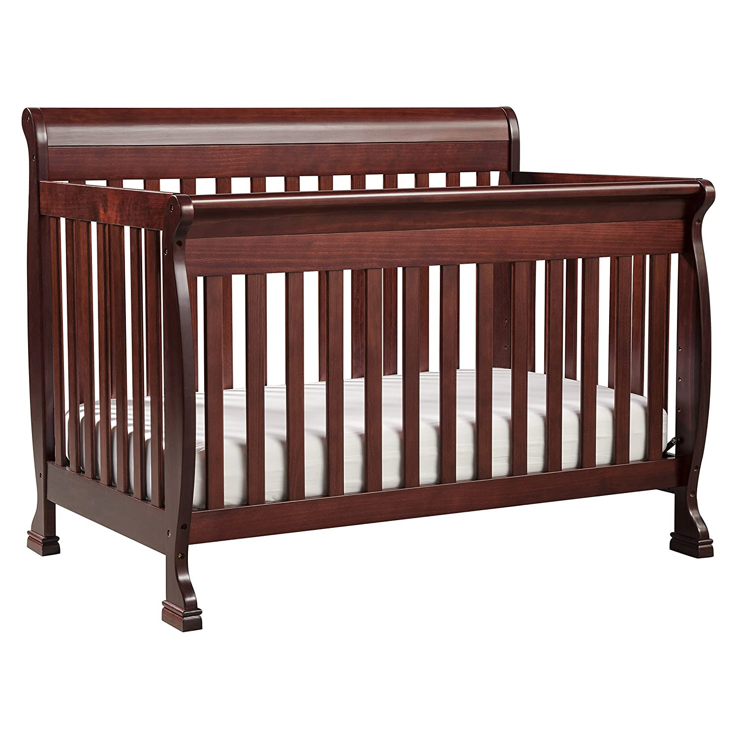 Baby crib for sale singapore - Amazon Com Davinci Kalani 4 In 1 Convertible Crib With Toddler Rail Cherry Baby
