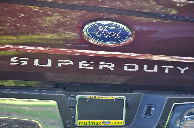 TufSkinz | 2017-up Ford Super Duty Tailgate Inserts (Matte Black)