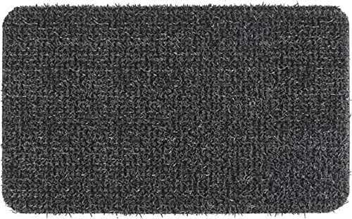 GrassWorx Clean Machine Flair Doormat, 18 x 30 , Flint 10372029
