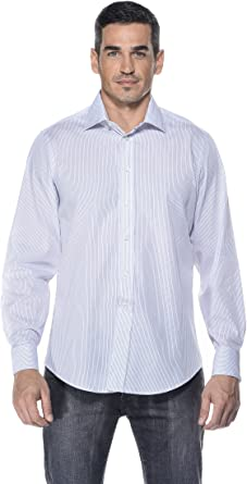 Camicissima Camisa Rayas para Gemelos Blanco/Negro/Celeste 37: Amazon.es: Ropa y accesorios