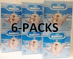 Manasul Tea 50s 6-PACK (300 total Tea Bags)