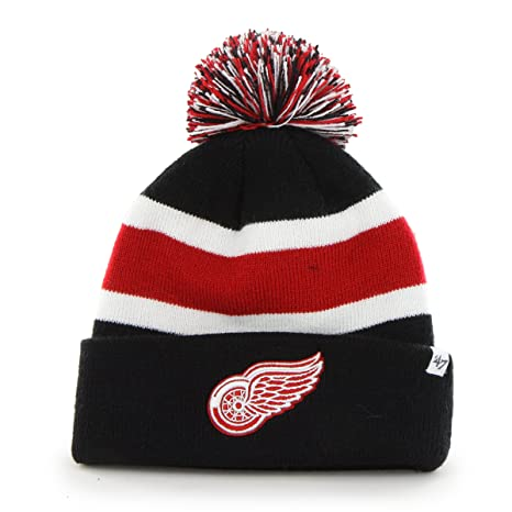 the latest 50a4a ed9f5 NHL Detroit Red Wings  47 Breakaway Cuff Knit Hat, One Size Fits Most,