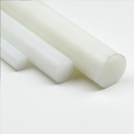 Durchmesser 40 mm PA6 Polyamid natur 1000 mm lang