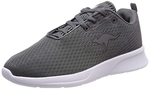 b283feb1 KangaROOS Unisex's Kf-a Act Trainers Grau (Steel Grey/Jet Black 2019 ...