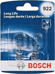 Bosch 922 Long Life Upgrade Minature Bulb, Pack of 2