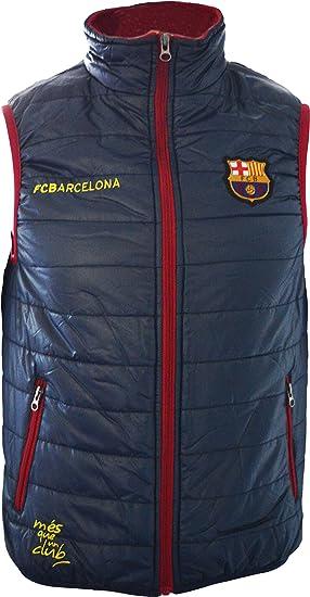 FC Barcelona - Chaleco de plumas sin mangas oficial del ...