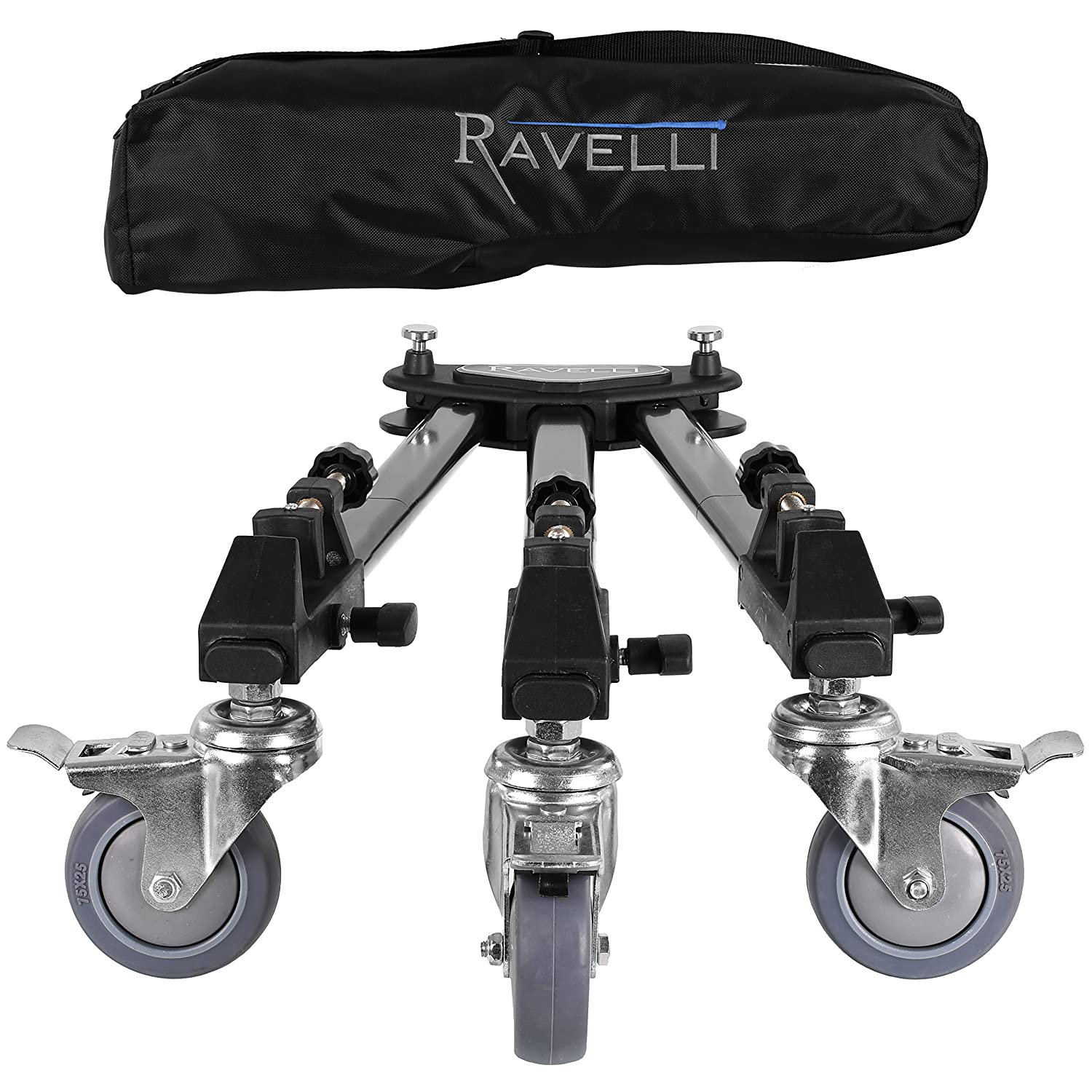 Amazon.com : Ravelli ATD Professional Tripod Dolly for Camera ...