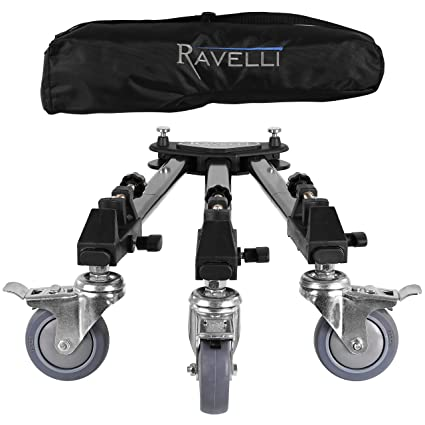 Amazoncom Ravelli Atd Tripod Dolly For Camera Photo Lighting