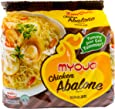 Myojo Chicken Abalone Instant Noodle 5 Packets, 395 g