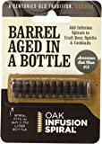 Oak Infusion Spiral 9U-AQSI-Z3EY2 Pack - Barrel Aged in a Bottle . Barrel Age Your Whiskey - Bourbon - Wine - Favorite Alcohol in Days, Improve the Flavor and Looks with the