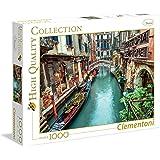 Clementoni - Puzzle de 1000 piezas, diseño canal de Venecia (39328.2)