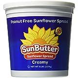 Sunflower Seed Sunbutter Creamy Spread, 5 Pound -- 6 per case.