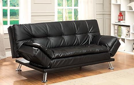 Amazon.com: Muebles de América Wilhelm futon Sofa: Kitchen ...