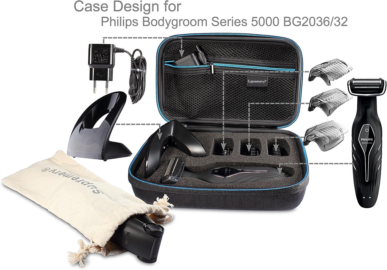 Supremery Funda para Philips Bodygroom Series 5000 bg2036/32 Caja ...