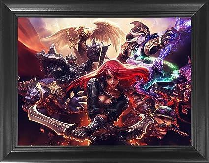 Amazon.com: League of Legends Framed 3D Lenticular Poster -Katrina ...