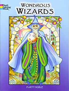 Wondrous Wizards Dover Coloring Books