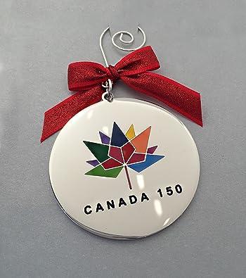Official Canada 150 Christmas Ornament Merry Christmas Eh 2017