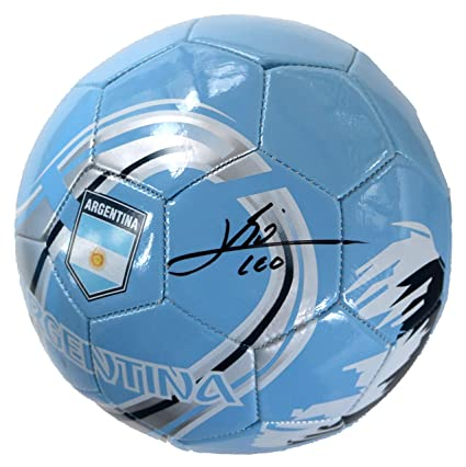 29e5c77c2bc Lionel Messi Signed Autographed Argentina Soccer Ball PAAS COA at ...