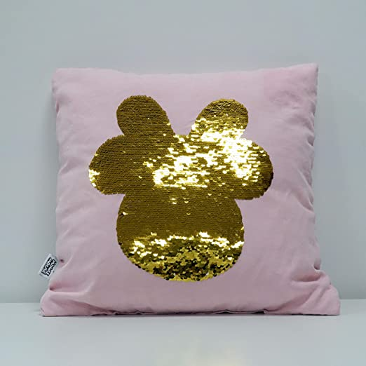 Disney - Cojín de Minnie Rose con Lentejuelas Reversibles de ...